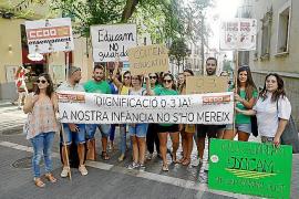 Nueva protesta en Palma de las educadoras de 0-3 años por la «precariedad» de su convenio
