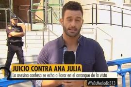 Un reportero de Telecinco, en el juicio de Ana Julia Quezada: «Hemos visto a la negra de blanco inmaculado»
