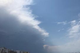 Activado el Índice de Gravedad 1 por tormentas en Baleares