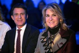 Valls y su novia ya están en Menorca para celebrar su boda