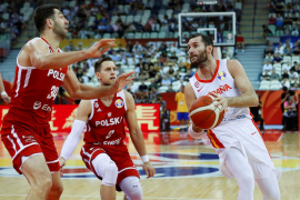 España, a semifinales del Mundial tras doblegar a una competitiva Polonia (90-78)