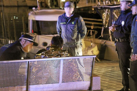 Rescatado un británico totalmente ebrio tras caerse al agua en el Passeig Marítim de Palma