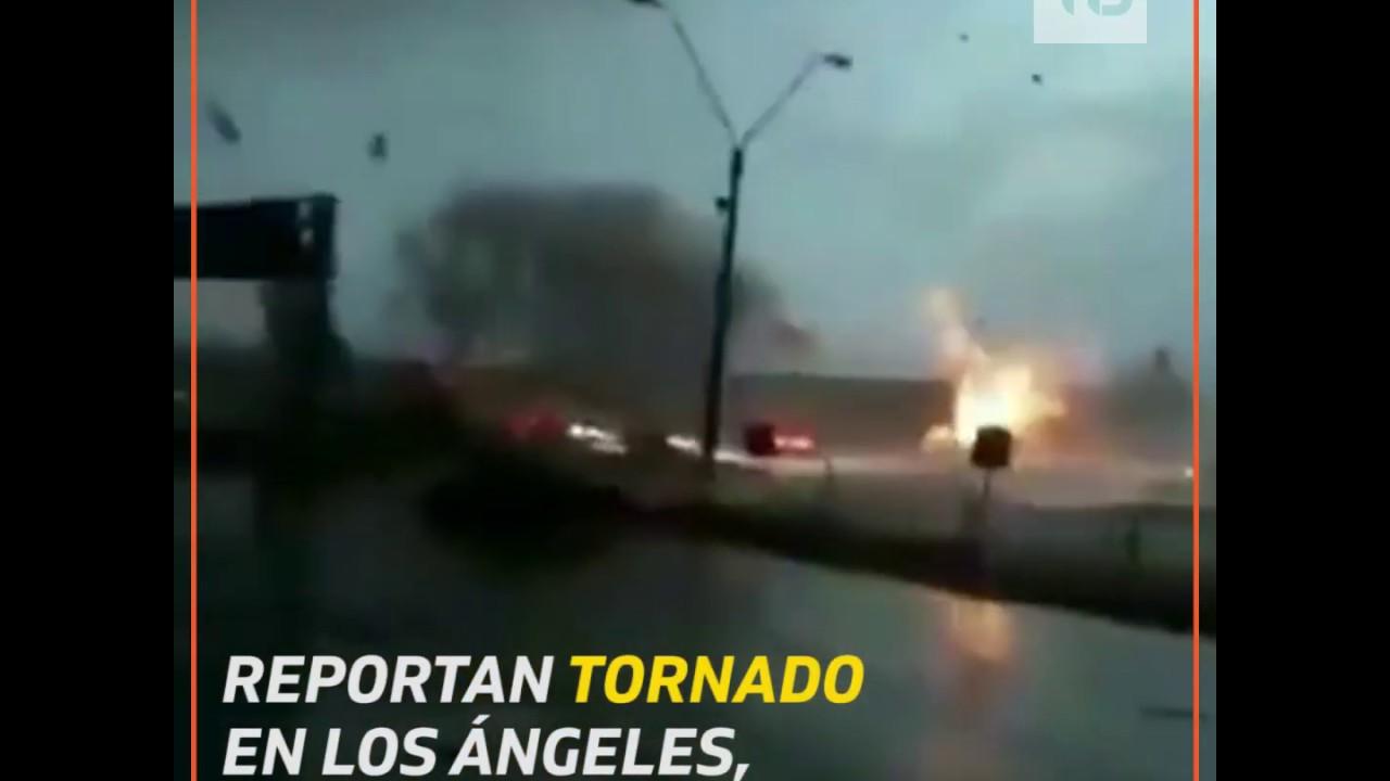 El falso vídeo de un tornado en Can Valero