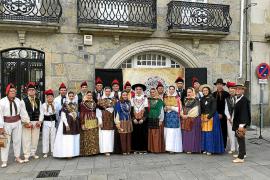 La colla Es Broll en Pontevedra