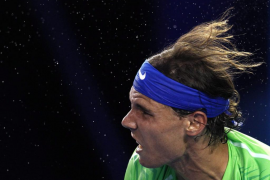 Rafa Nadal y Marcel  Granollers supera la primera ronda del dobles