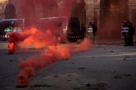 Los Mossos cierran el recinto del Parlament por altercados