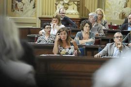 El PP acusa al PSIB de «vetar» sus iniciativas en el Parlament