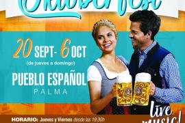 Oktoberfest en Mallorca: Regresa la 9a edición al Pueblo Español