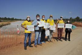 La Comissió de Medi Ambient estima «razonable» el uso de escorias en la autopista de Llucmajor