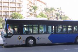 Refuerzo de los autobuses de la EMT con motivo del partido del Mallorca