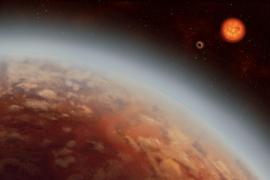 Detectan vapor de agua en la atmósfera de un exoplaneta habitable