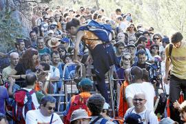 El TSJB impide al Ajuntament de Pollença autorizar a los senderistas a pasar por el Camí de Ternelles