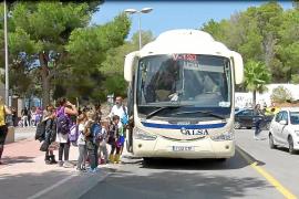 Varios alumnos del colegio Ses Planes, «extraviados» por fallo de la monitora de bus