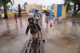 Fotogalería del temporal de este jueves en las Pitiusas (Fotos: Marcelo Sastre / T. Planells).