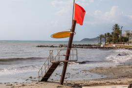 La DANA mantiene este viernes en riesgo a las Pitiusas