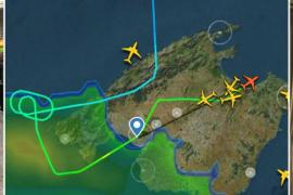 Las fuertes tormentas han obligado a cerrar el tráfico aéreo en el Aeropuerto de Palma