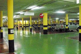 El aparcamiento subterráneo de sa Calatrava deberá abrir al público