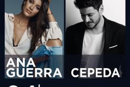 Ana Guerra y Cepeda ofrecerán un concierto conjunto en Trui Teatre