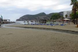 Se debilita la tormenta en Mallorca y desciende el nivel de alerta a amarillo