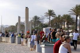 Cuatro detenidas cuando robaban a un turista en la Playa de Palma