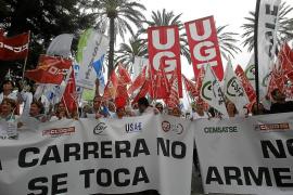 El Govern salva el pago de la carrera profesional y evita un recurso de Madrid