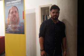 Gabriel Rufián: «El independentismo aun tiene mucho recorrido en Baleares»