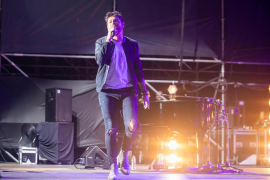 El concierto de Pablo López en Ibiza, en imágenes. Fotos: T. Planells