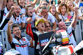Tatsuki Suzuki inaugura su casillero de victorias en Moto3 al ganar en San Marino