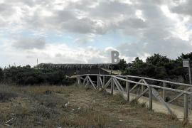 El Govern levanta 16 actas a chiringuitos del Parque Natural de ses Salines en las Pitiusas