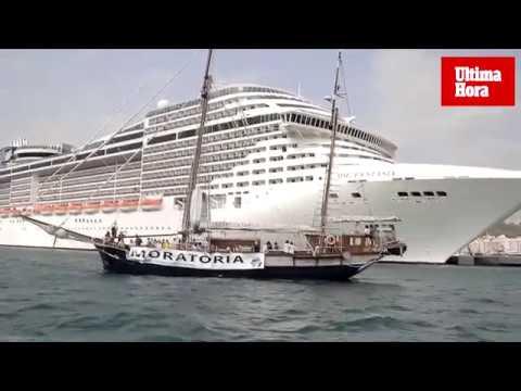 Exigen una moratoria en la contratación de cruceros y megacruceros en Palma