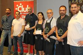 Entrega de premios del concurso 'Un chef en casa'