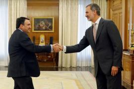Felipe VI recibe a Aitor Esteban