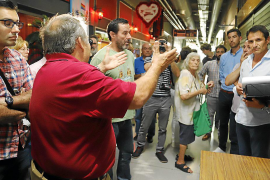 Propietarios de las galerías de la Plaça Major acusan a Cort de obligarles a cerrar