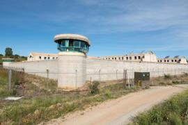 Vista general de la cárcel de Brieva,