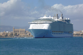 Las navieras admiten que cuatro cruceros a la vez en el puerto de Palma «no es razonable»