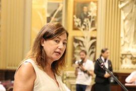 «Extremar la prudencia», premisa de Armengol para los presupuestos de 2020