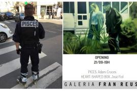 La Galería Fran Reus acoge la doble exposición de Adam Cruces y José Fiol para la Nit de l'Art 2019