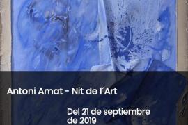 Antoni Amat es la propuesta de la Galería Gabriel Vanrell para esta Nit de l'Art 2019