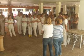 Concentración contra la agresión sexual en la Bonanova