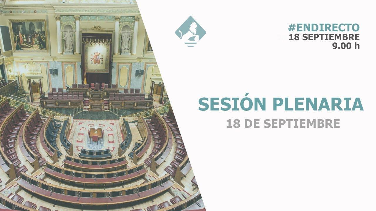 EN DIRECTO | Última sesión de control de la de la XIII Legislatura tras el fracaso político