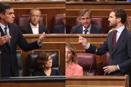 Casado avisa a Sánchez que «las elecciones las carga el diablo» y éste pide «mayoría más rotunda» para evitar bloqueos
