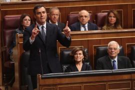Sánchez quiere una mayoría «rotunda»