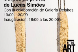 Sant Francesc Hotels participa en la Nit de l'Art 2019 con las esculturas de Lucas Simões