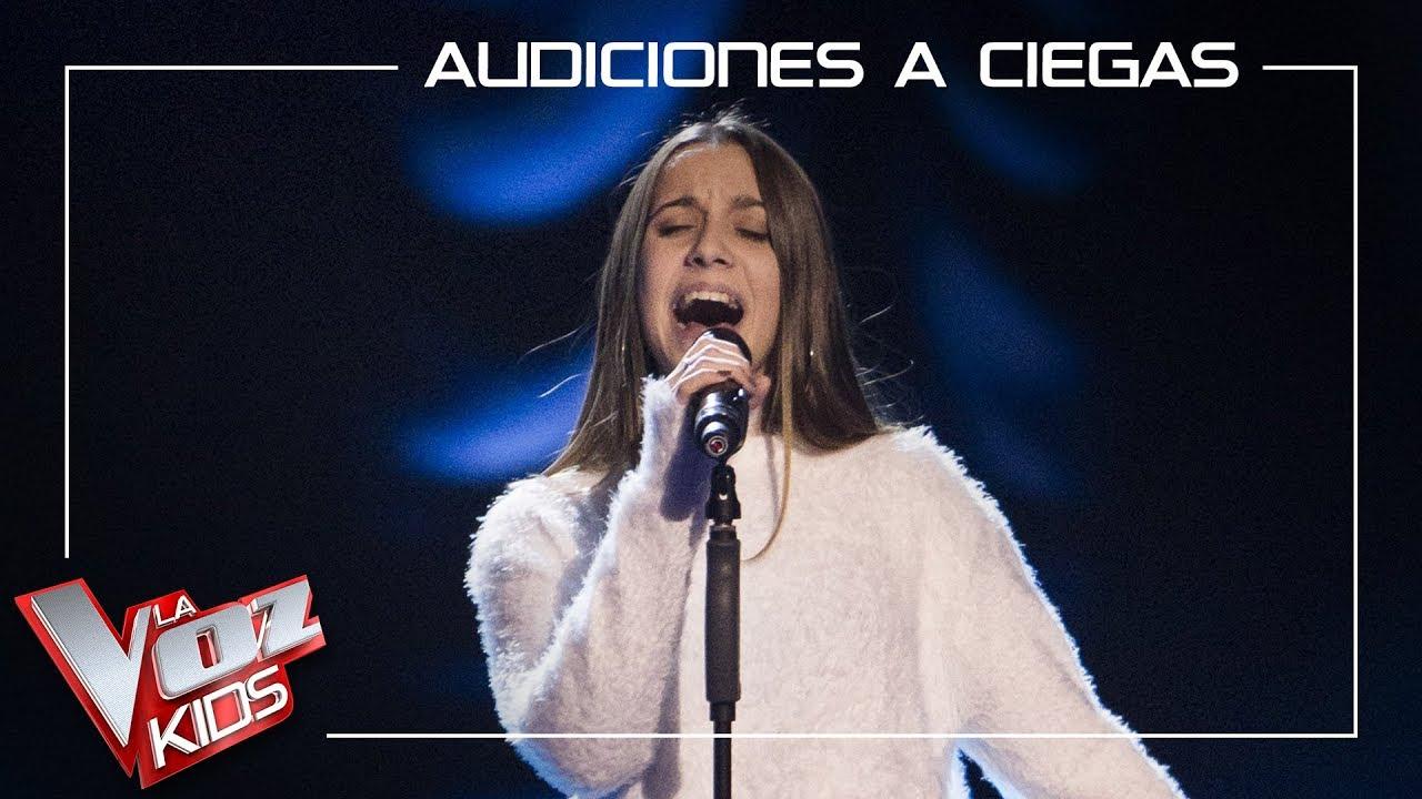 La sensibilidad de la mallorquina Laura Valle impresiona en 'La Voz Kids'