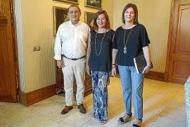 Alfonso Rodríguez y Francina Armengol