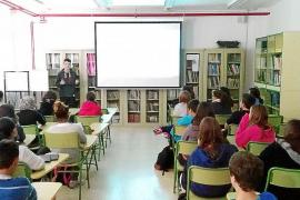 Alumnos, en un aula de un centro educativo de las Islas
