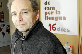 """Jaume Bonet: """"La defensa de la lengua tiene una vertiente social y solidaria"""""""