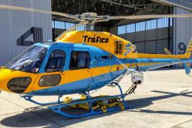 El helicóptero de la DGT caza a 124 conductores infractores este verano en Mallorca