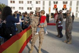 Un contingente de 45 soldados de Palma partirá en  abril a Afganistán