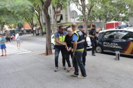 La policía reconstruye con el presunto homicida el crimen de Son Gotleu